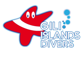 GILI ISLANDS DIVERS Logo